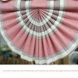 Cortinas romanas do ventilador do Chenille da isolação térmica para o quarto (32R0017)