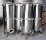 De industriële Filter van de Patroon van het Systeem pp van het Water van het Roestvrij staal RO