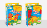 Kids DIY Color Colle Toy-Sticky Mosaic-Create Carnival Mask, Animal & Robot