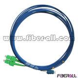 Одномодовый оптоволоконной кабельной перемычки Sc APC для LC ПК