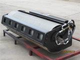 Chargeur de boeuf de dérapage de XCMG avec la pièce d'assemblage de rouleau vibrant