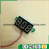 "V20d 0.36 "" 2개의 철사 (색깔을%s 가진 LED DC 2.5-30.0V 디지털 표시 장치 전압계: 황색)"