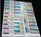 カスタマイズされたデザイン再生利用できるカスタム安い印刷されたペーパーガラスびんのラベル
