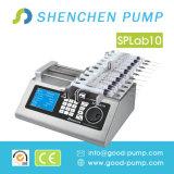 Petite pompe de seringue de débit pour l'infusion, chromatographie automatique d'ion de pompe de marque, pompe de seringue d'intelligence pour le laboratoire