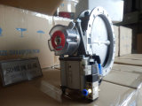 Pneumatische Actuator Ra100 van Sicoma voor Vleugelklep