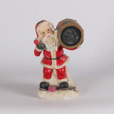 Résine Custom Christmas Decoration Santa Claus Solar Light