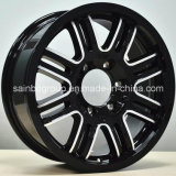 17X8, 18X8, 20X8.5 para as rodas de Toyota SUV, bordas da roda da liga do carro