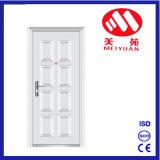 Puerta blanca de la seguridad del hierro de la seguridad de la casa para la puerta de entrada