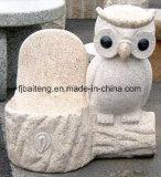 Chaise en pierre naturelle pour décoration de jardin (SY-031)
