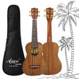 Ukulele сопрано Гавайских островов Koa высокой ранга Abalone Aiersi