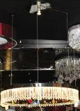 La moderna hermosa iluminación colgante redondo para el hogar y decoración del hotel