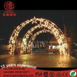 LED iluminado al aire libre de Navidad de arco de Enfrente Decotations Motif Lights para vacaciones