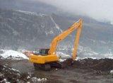 long boum d'extension de 18m-25m pour l'excavatrice R150/R220/R275/R350 de Hyundai