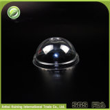 Wegwerfplastik360ml/12oz kaffeetassen mit Abdeckung-Kappen oder flachen Kappen