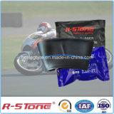 A fábrica distribui a câmara de ar interna 2.50-17 da motocicleta natural e butílica