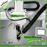 Máquina de rellenar Ocitytimes 510 del petróleo de Shenzhen O de la pluma de Vape del cartucho automático al por mayor del vaporizador con la calefacción de proceso completa