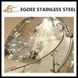 Barandilla de cristal de Raillings /Balcony Railling de la barandilla del balcón con acero inoxidable