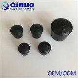 Pontas de borracha redondas do pé da mobília do preto quente da venda com alta qualidade