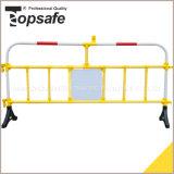 Tubulação plástica do PVC da barreira do tráfego da barreira da estrada com pés de borracha (S-1640A)