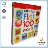 Livre de couverture rigide pour enfants éducatifs de haute qualité