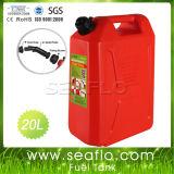 5/10/20L 빨간 플라스틱 자동차는 바다 연료 가스 탱크를 잠궜다