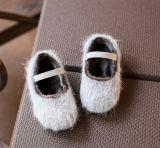 Il bambino infantile calza la scarpa da tennis molle antisdrucciolevole del bambino dei caricamenti del sistema di Soled (AKBS24)