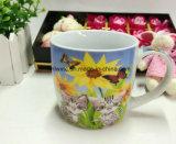 Promotion Tasse de café en céramique de 11 oz avec design floral pour la fête des femmes