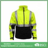 Куртка in-1 Высок-Видимости 3 отражательная в желтом цвете