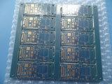 PCB de multicamada Soldermask azul de camada 4 com espessura da placa 1,6mm Enig