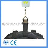 De elektronische PostSchalen Traval van de Visserij met Gewicht sluiten de Maximum 50kg Digitale het Hangen 110lb Schalen van de Bagage