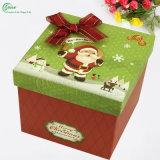 Nouvelle impression colorée personnalisée pour la boîte cadeau Apple Packing Christmas (KG-PX079)