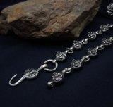 アイリス穀物の吊り下げ式のネックレスのチタニウムの鋼鉄パンクの人