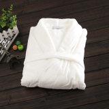 Hommes et femmes Couple respirant Linge de lit naturel Peignoir en coton Vêtements de nuit Robe Lounge Robe de bain