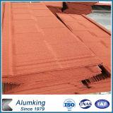 Плитки скрепления толя красного Coated металла керамические для строительного материала