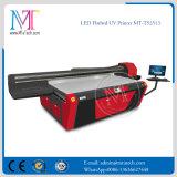 China Fabricante de la impresora Impresora CMYKW 5 color de cama plana UV Ce SGS Aprobado