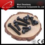탄소 강철 급료 4.9 8.8 10.9 12.9 M8 까만 버섯 헤드 놀이쇠 ISO7380