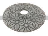 돌 Polishng를 위한 3 단계 유연한 닦는 패드