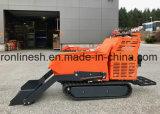 9HP Crawler приведенный в действие двигателем Type Отслеживайте тачку/миниый Dumper транспортера/следа/затяжелитель сада/тележку навоза/миниый Dumper с гидровлическим самозарядным Ce приспособления