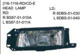 Lâmpada da lâmpada da parte dianteira do carro do ABS da lâmpada do carro de Mazda do ABS para a lâmpada do diodo emissor de luz Mazda de Mazda