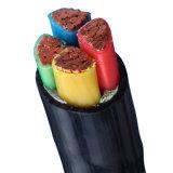 Conducteur en cuivre / aluminium XLPE (polyéthylène réticulé) Câble d'alimentation isolé