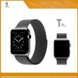Fascia milanese di Iwatch del rimontaggio delle fasce del ciclo dell'acciaio inossidabile con il catenaccio magnetico della chiusura per la cinghia della striscia della vigilanza del Apple