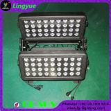 Ce RoHS 72x10W RGBW 4en1 LED Bañador de pared