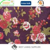 Полиэфир красивейший и изготовление Китая ткани подкладки печати вскользь износа способа