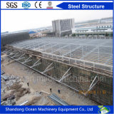Rivestimento prefabbricato della struttura d'acciaio di riduzione dei costi con il pannello a sandwich della lamiera o di acciaio di colore per il magazzino/workshop