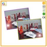 Kundenspezifische fördernder Papierschürhaken-Spielkarten