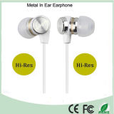 Hi-Res Stereo in Ear Earphone Hr500 Noir Blanc Rouge Option