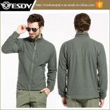 人の軍隊の緑の通気性の羊毛のジャケットMens