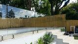 Glace inférieure durcie de fer pour la frontière de sécurité de piscine