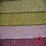 Tissu de sofa teint par rideau de textile de maison de capitonnage de polyester