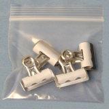 De waterdichte Duidelijke Re-Sealable Plastic PolyZak van de Ritssluiting voor Juwelen